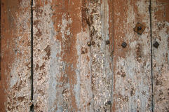 Abstract surface: fragment of old wooden door Royalty Free Stock Photos