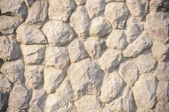 Abstract surface of the stone wall. Royalty Free Stock Photo