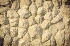 Abstract surface of the stone wall. Stock Photo