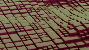 Abstract Surface Wave, 3d Animation 4k stock footage