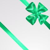 Abstract surprice background with bow. Eps 10  illustration Royalty Free Stock Photography
