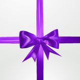 Abstract surprice background with bow. Eps 10 vector illustration Royalty Free Stock Images