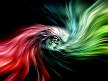 Abstract surreal cosmic background Royalty Free Stock Images