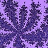 Abstract surreal violet roze als achtergrond/fractal Stock Afbeeldingen