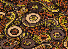Abstract surrealistic colorful background.Vector Royalty Free Stock Image