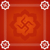 Abstract Swastika Background Royalty Free Stock Photography