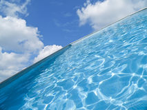 Abstract Swimming Pool. Swimming pool in Heaven Royalty Free Stock Image