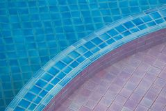 Abstract swimming pool Royalty Free Stock Photography