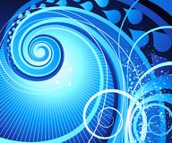 Abstract swirl. Royalty Free Stock Image