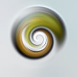 Abstract swirl. An illustration of an abstract esoteric swirl stock photos