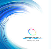 Abstract Swirl Background Stock Photo