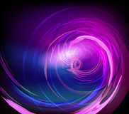 Abstract swirl background. Abstract conceptual background in pink and blue colors Stock Photos