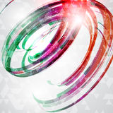 Abstract swirl background Stock Images