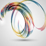 Abstract swirl background Stock Image