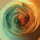 Abstract swirl background - full color rainbow spectrum autumnal green and orange colored. Abstract modern swirl background - full color rainbow spectrum Royalty Free Stock Image