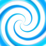 Abstract swirl background made of twirls. Abstract swirl blue background made of glossy twirls Royalty Free Stock Photos