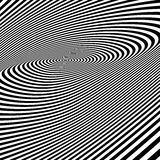 Abstract swirl background. Pattern with optical illusion. Royalty Free Stock Image