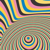 Abstract swirl background. Pattern with optical Stock Photo