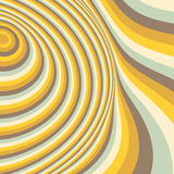 Abstract swirl background. Pattern with optical Royalty Free Stock Photos