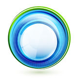 Abstract swirl banner Royalty Free Stock Photos