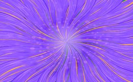 Abstract swirl bright background in orange color. Abstract swirl bright background in Purple color. Purple abstract background of lucici waves stock illustration