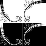 Abstract Swirl Curve. An image of an abstract swirl curve set Royalty Free Stock Photography