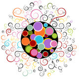 Abstract Swirl Design Element Stock Photography