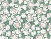 Abstract swirl flower rose seamless Texture Royalty Free Stock Images