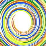 Abstract swirl glossy rainbow colors vector backgr Royalty Free Stock Image