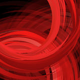 Abstract swirl red background. Vector Illustration Stock Image