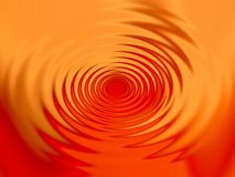 Abstract swirl in red and orange stock photography