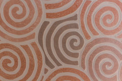 Abstract swirl seamless composition made of spirals. Stock Photos