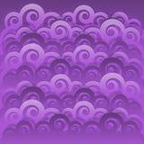 Abstract swirl wave Japanese background Stock Image