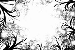 Abstract swirled fairytale illustration artwork Royalty Free Stock Photos