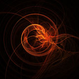 Abstract swirling background. Abstract background with swirling design Stock Photo