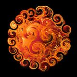 Abstract swirling design Royalty Free Stock Photography