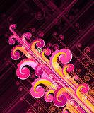 Abstract swirls. Royalty Free Stock Image