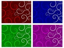 Abstract Swirls Backgrounds Stock Image