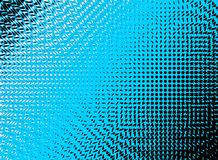Abstract swirls blue halftone background. Illustration Stock Photography