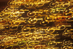 Abstract Swirls of Light Royalty Free Stock Photo