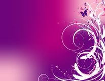 Abstract Swirls in Pink Royalty Free Stock Photos
