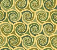 Abstract swirls seamless pattern Stock Image