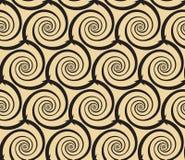 Abstract swirls seamless pattern Royalty Free Stock Photo