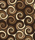 Abstract swirls seamless pattern Stock Photos