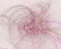 Abstract Swirly Pink Background Stock Photos