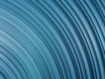 Abstract swirly shape blue background. 3D Stock Photo