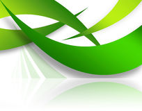 Abstract Swoosh Layout Royalty Free Stock Image