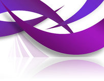 Abstract Swoosh Layout Royalty Free Stock Photos