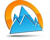 Abstract symbol. Royalty Free Stock Photos