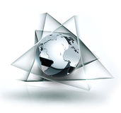 Chrome world Stock Photography